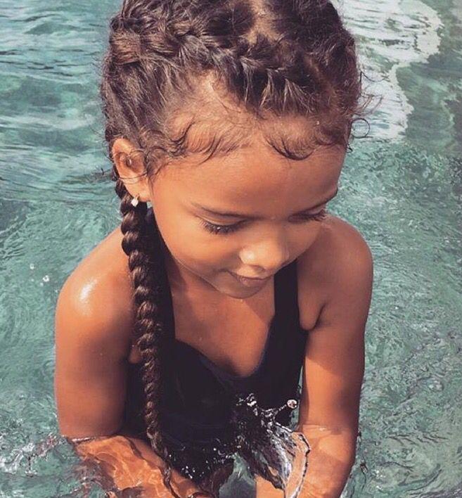 Amazing 1000 Ideas About Mixed Girl Hair On Pinterest Mixed Girls Short Hairstyles For Black Women Fulllsitofus