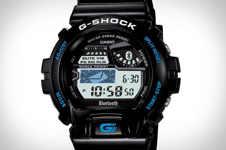The Casio G-Shock Bluetooth Watch ($180) hooks up with your iPhone using Bluetooth 4.0 while retaining the classic G-Shock profile.