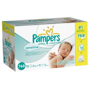 Pampers Sensitive Wipes, Diapering & Potty | Walmart Canada Online Shopping
