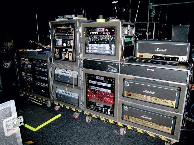 Jimmy Has Made A Major Change To Tommy Shaws Guitar Rig