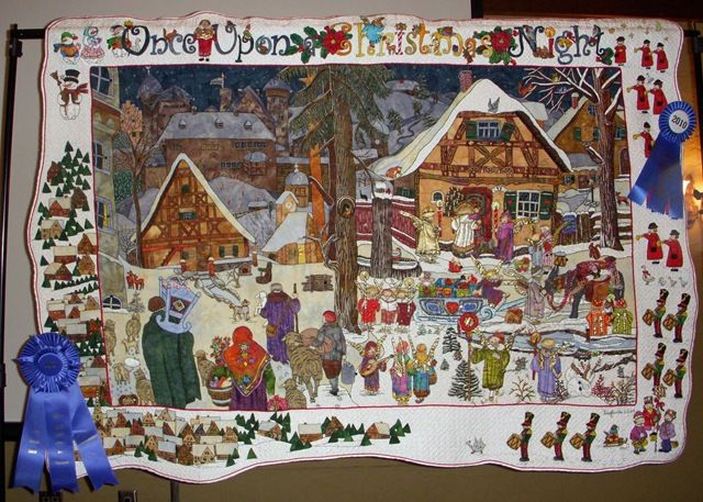 27 Best Quilts Gingerbread Village Images On Pinterest