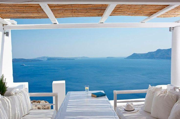 It's G&T time! Santorini island, Greece  www.callgreece.gr