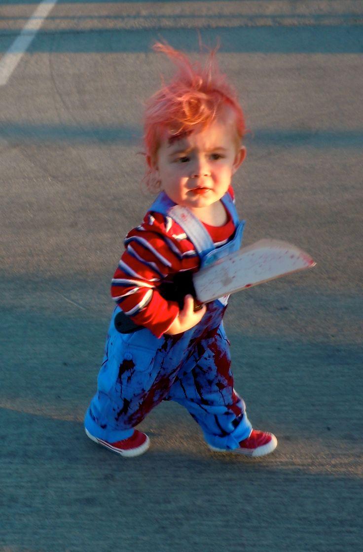 Scary Little Chucky Kids Halloween Costume Kids