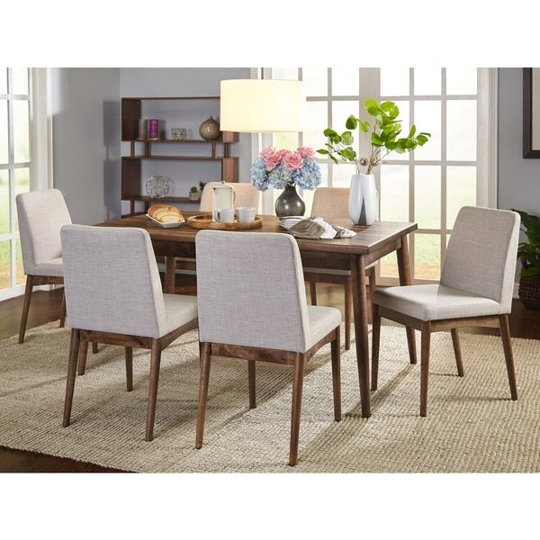 Simple Living Element Mid Century Dining Chairs Set Of