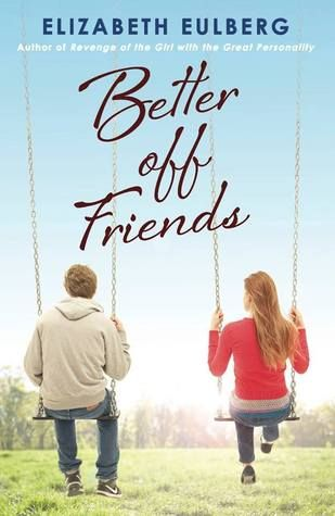 From romantic comedy superstar Elizabeth Eulberg comes a fresh, fun examination of a question for the ages: Can guys and girls ever really be just friends?  Or are they always one fight away from not speaking again – and one kiss away from true love? Review from The Nerdy Book Club.
