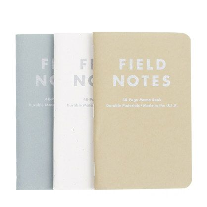 Field Notes™ for J.Crew three-pack