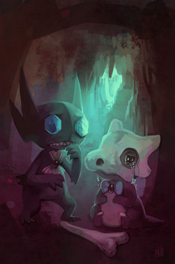 Ya never thought you would see a Sableye look sad, did you?