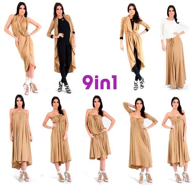 9 in 1 | Multifunctional Clothes | Pinterest