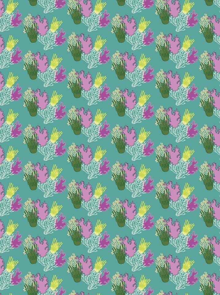 Corals pattern design