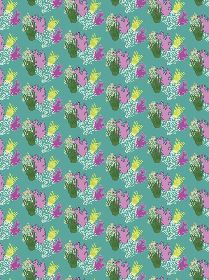 Corals pattern design