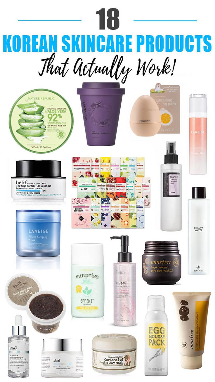 18 Best Korean Skincare Products That Actually Work