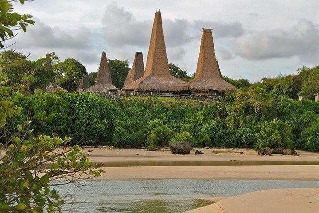 Kampung Adat ratenggaro Sumba Barat NTT Indonesia