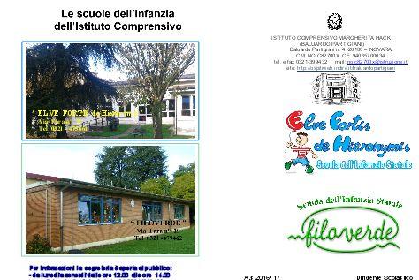 """Il 25 gennaio Open Day alle scuole dell'Infanzia """"Elve"""" e """"Filo Verde"""" di Novara  http://libriscrittorilettori.altervista.org/737-2/"""