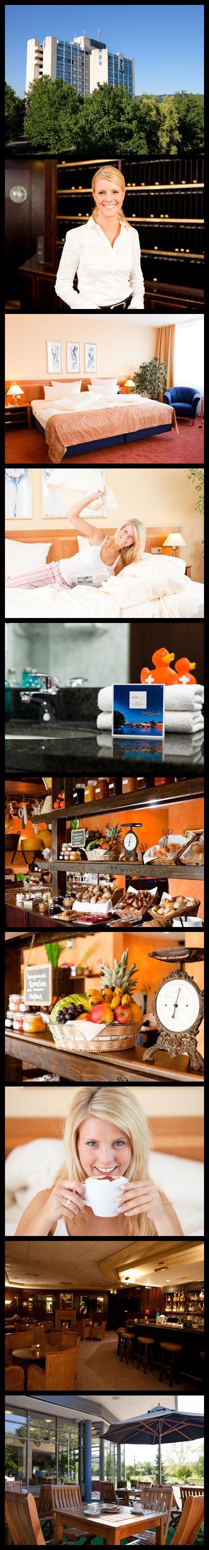 Hotel bei Basel: carathotel Basel / Weil am Rhein.