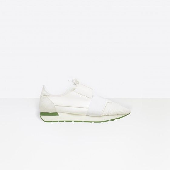Shop Balenciaga Multimaterial Contrasted Runners White Men in Balenciaga Sale online with Balenciaga Sneakers Sale and Cheap Balenciaga #shoes #runners #sneakers #lifestyle #spring #ss18