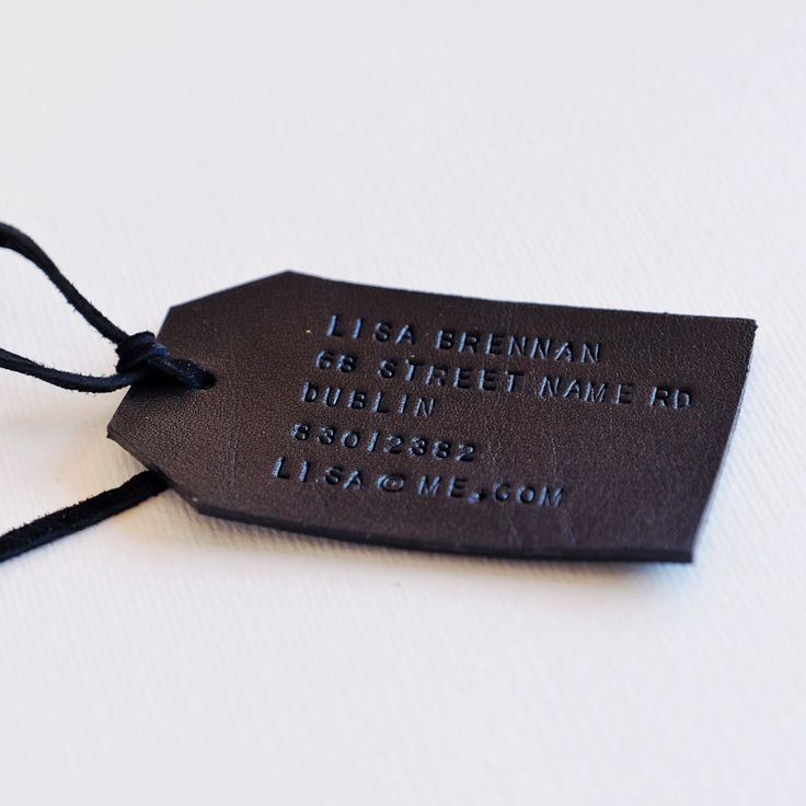 Custom Leather Luggage Tags, Personalized Leather Travel Tags, Black Luggage Tag, Honeymoon Couple Tags,Wedding Gift, Bridesmaid Gift by MayaaCo on Etsy