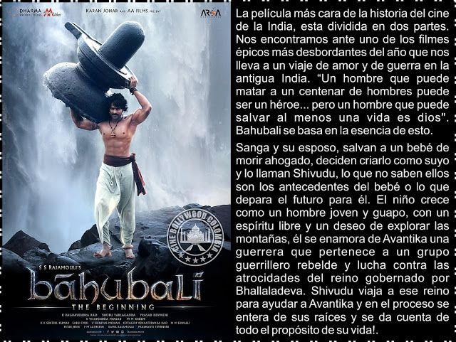 Cine Bollywood Colombia: Baahubali: The Beginning