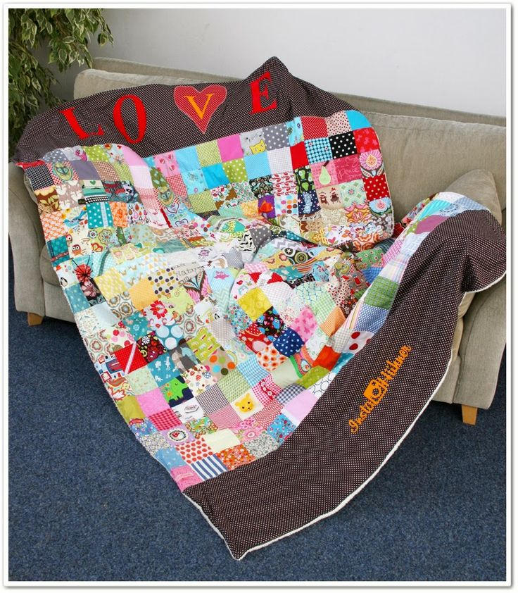50 best Quilting & Patchwork images on Pinterest | Sewing, Blankets ...