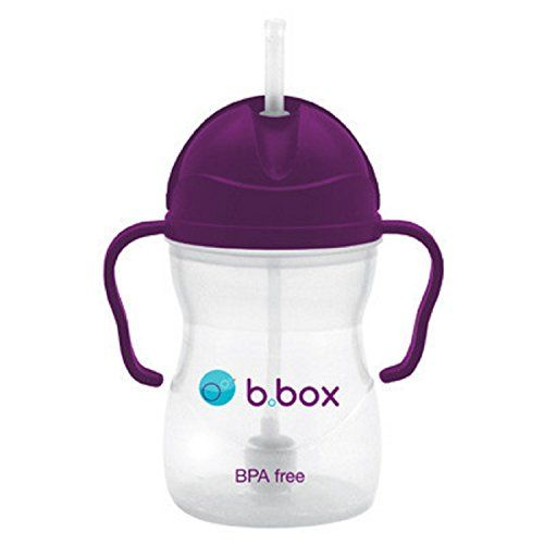 B Box Weighted Straw Sippy Cup 8 Ounces Grape ** Continue to the product at the image link.-It is an affiliate link to Amazon.
