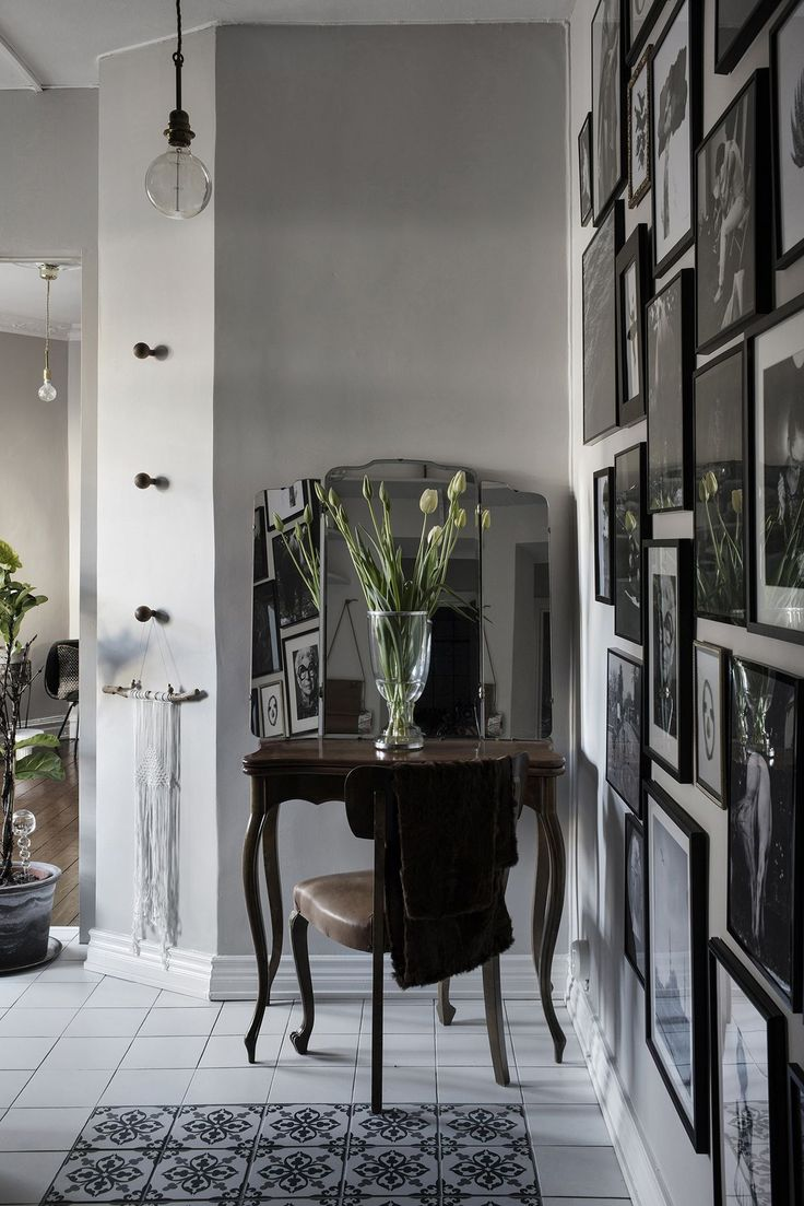 En helt magisk lägenhet i Paris-bohemisk stil