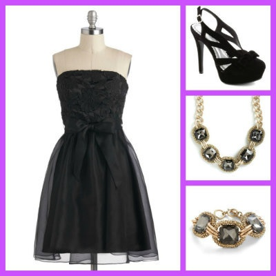 What to Wear to a New Year's Eve Wedding - The Little Black Dress