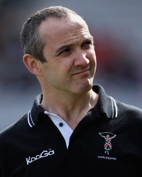 Conor O'Shea Photos Photos - Conor O'Shea, Harlequins coach, during the Guinness Premiership match between Harlequins and Newcastle Falcons at The Stoop on April 3, 2010 in London, England. - Harlequins v Newcastle Falcons - Guinness Premiership