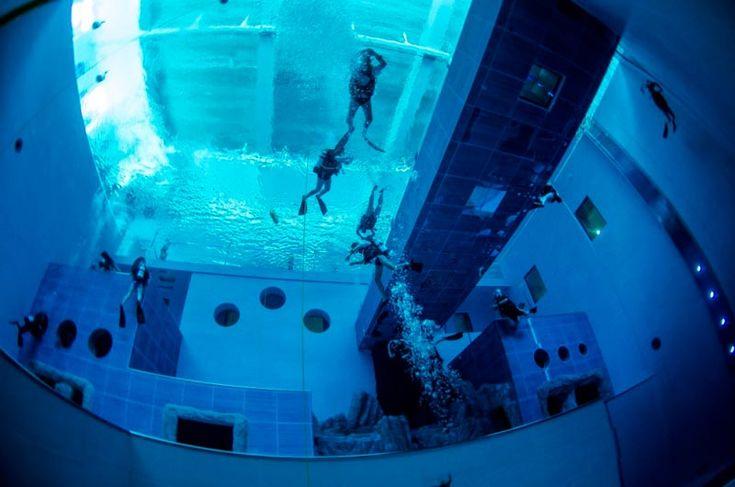 La piscina più profonda del mondo si trova in Veneto | WePlaya