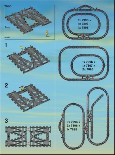 level track layout lego train tech