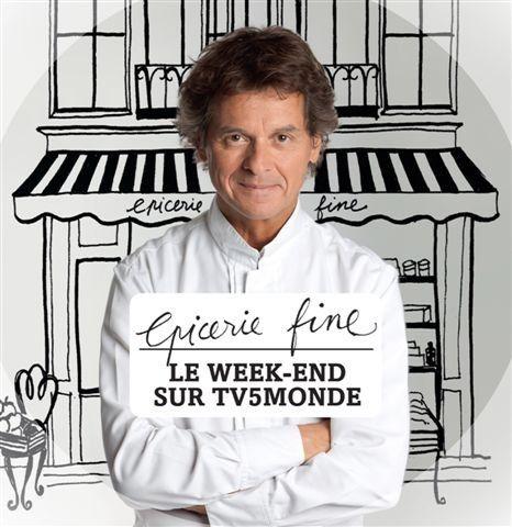 Epicerie fine.  Le chef étoilé Guy Martin, rempile sur TV5Monde.