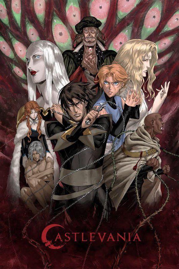 castlevania anime series videogame netflix tvshow in