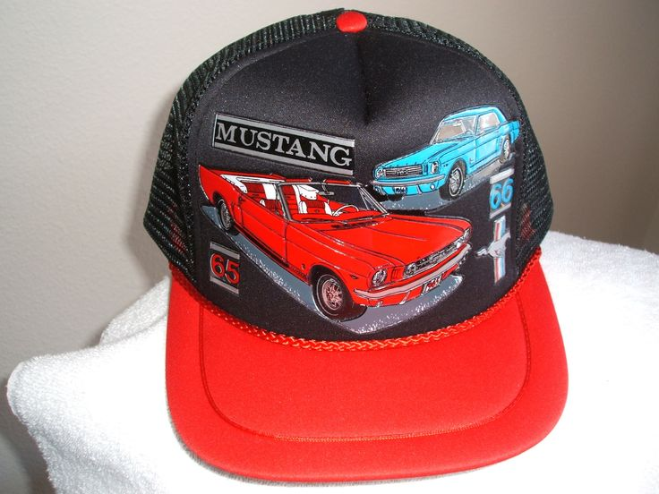 """""""65-66""""+Mustang+in+3-D+graphic+on+a+new+black+mesh+ball+cap+w/red+bill:+Mustang+3-d+graphics+of+a+65/66+Pony+on+a+new+black+mesh+ball+cap+with+red+bill+and+trim...also+comes+in+white+w/blue+or+red+bills/trim.++send+message+if+you+are+wanting+a+different+style++Also+a+special+email+price+of+the+3+designs+can+be+offered"""