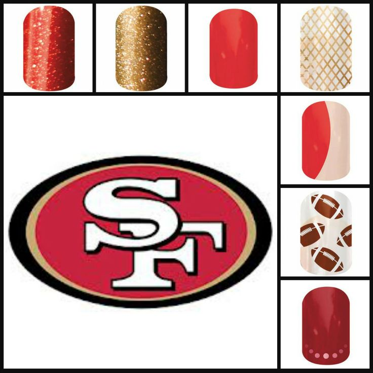 Jamberry 49er Style http://spicyjams.jamberrynails.net/