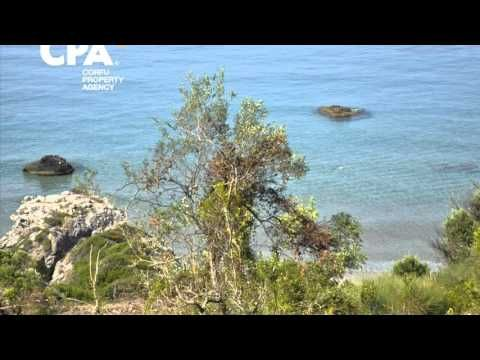 Sea front land for sale in Agios Gordios, central Corfu-CPA 3657 From: http://cpacorfu.com/en/properties/3657