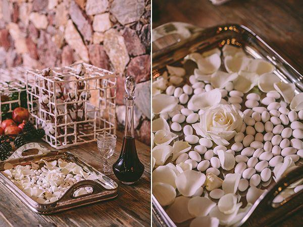 Christmas wedding ideas by Ioanna Vamvakari & Chlorofilli Flowers.  Venue Laas Estate (Athens, Greece) & photo by George Pahountis See more here https://www.pinterest.com/love4weddingsgr/ #christmaswedding #wedding #winterwedding #christmas