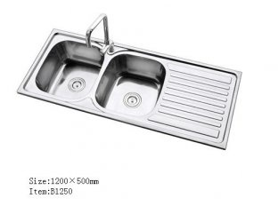 Love The Double Sink With Built In Drainboard Kitchen