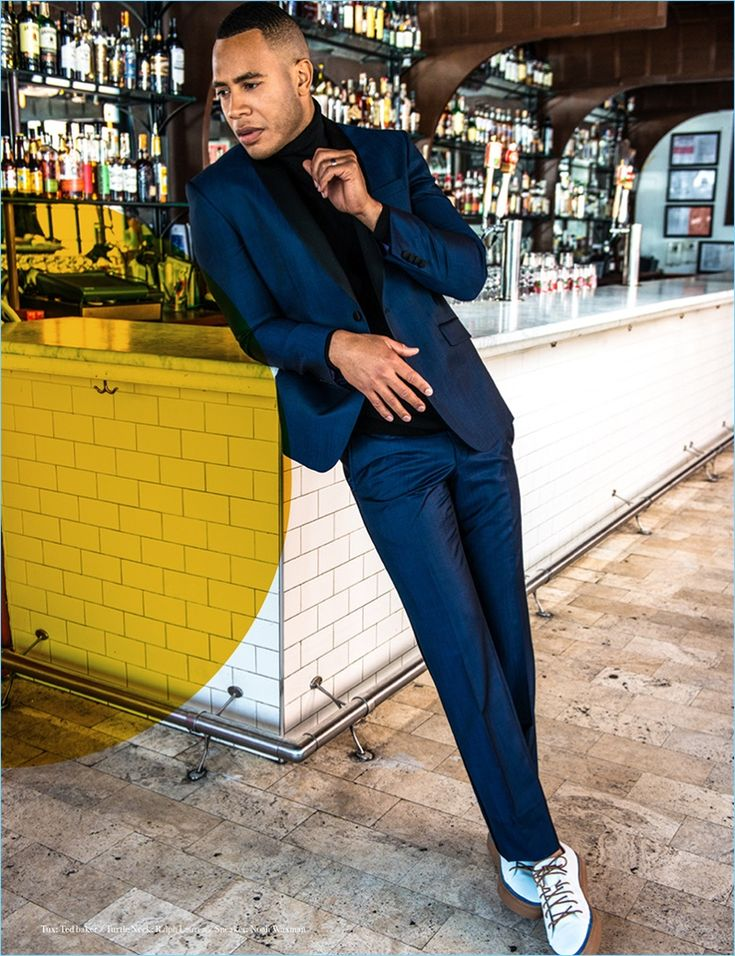 Trai Byers Inspires in Smart Styles for Man of Metropolis