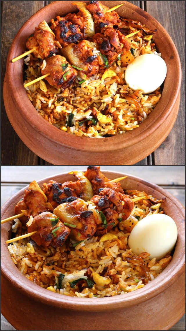 Good idea for presenting chicken tikka biryani… – I Cook ...