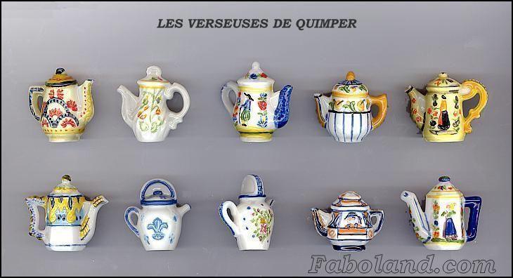 Série de Fèves LES VERSEUSES DE QUIMPER PP1502 New !!!!