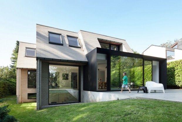 ETIE, rénovation et extension d'une villa en Flandre par Édouard Brunet et François Martens - Journal du Design