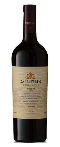 Salentein Barrel Selection Merlot: In de neus de zoete aroma's van bosbessen en een subtiele hint van geurige kruiden, munt en cederhout. Krachtige, fruitige rode wijn met een zeer mooie structuur en een perfecte balans tussen fruit en hout. De druiven zijn met de hand geplukt. Een combinatie van moderne en traditionele technieken. De rijping geschiedt op nieuwe Franse eiken vaten en duurt 17 maanden.