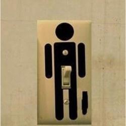 Cool light switch. :-) Benidorm, Spain, España