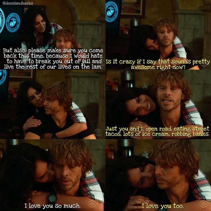 """260 Likes, 2 Comments - иcιѕ:ℓα (@densiandkeeks) on Instagram: """"Kensi is prepared to go on the run with Deeks and if that isn't love, I don't know what is…"""""""