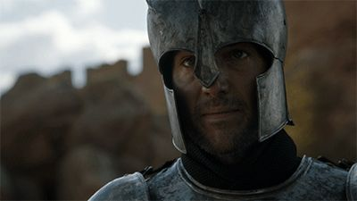 Sir Arthur of House Dayne guarding Jon Snow (Targaryen) at the Tower of Joy