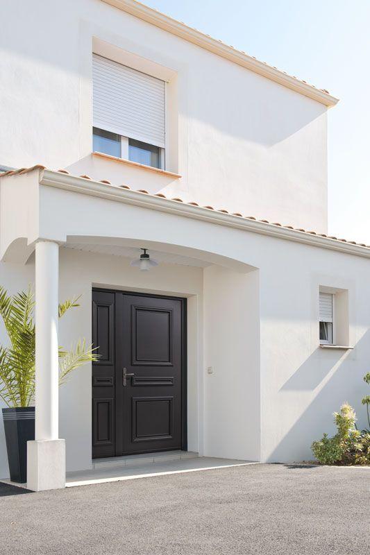 Porte d 39 entr e aluminium zilten mod le myriad portes aluminium zilten - Modele store pour maison ...
