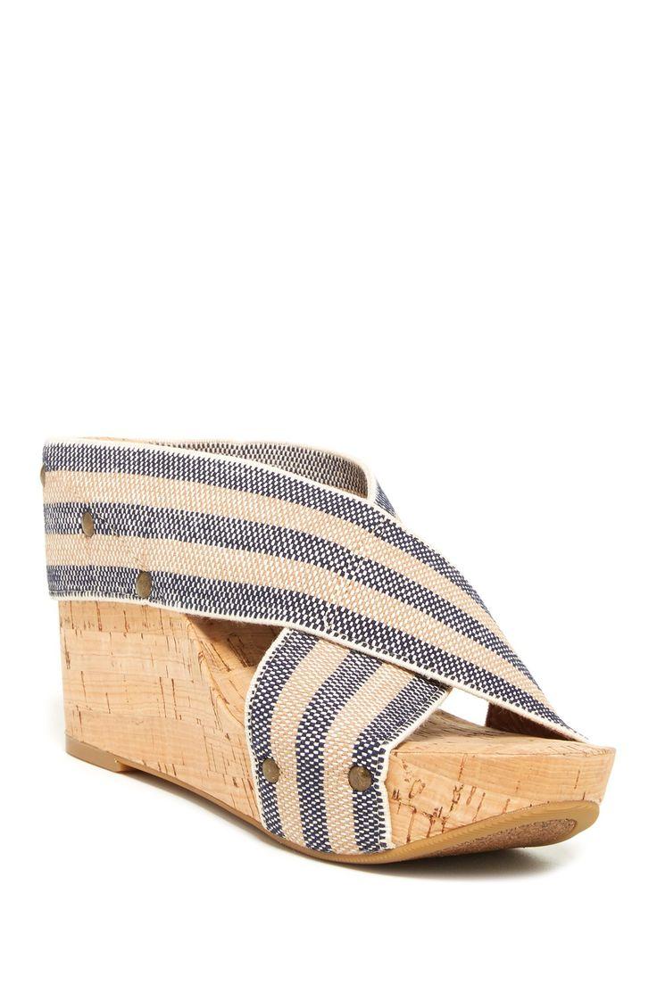Miller 2 Wedge Stripe Sandal