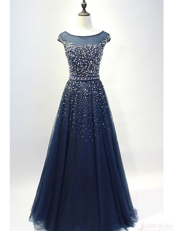 Navy Blue Long Prom Dresses Uk 102