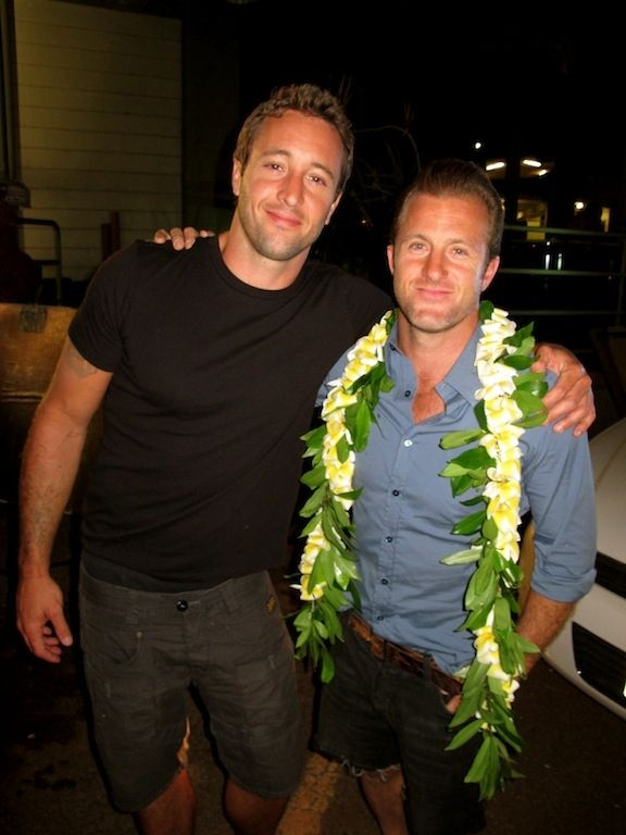 "Hawaii Five-0 Photos: Brothers in Arms on CBS.com    As Ina Garten, Barefoot Contessa, would say ""How bad could it be...?""    Alex McLoughlin and Scott Caan"