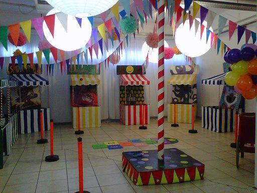decoracion stand kermesse