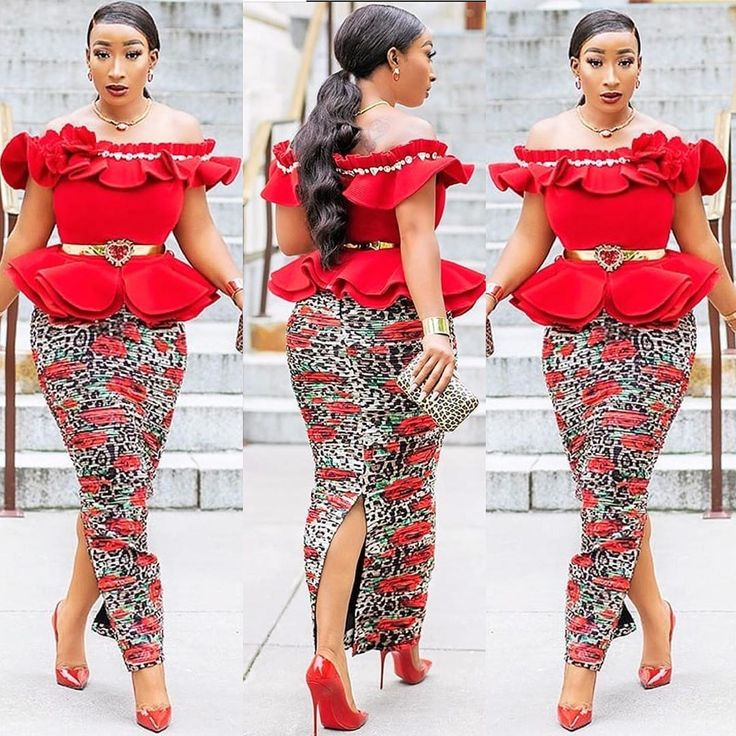2019 Cute and Lovely Ankara Styles