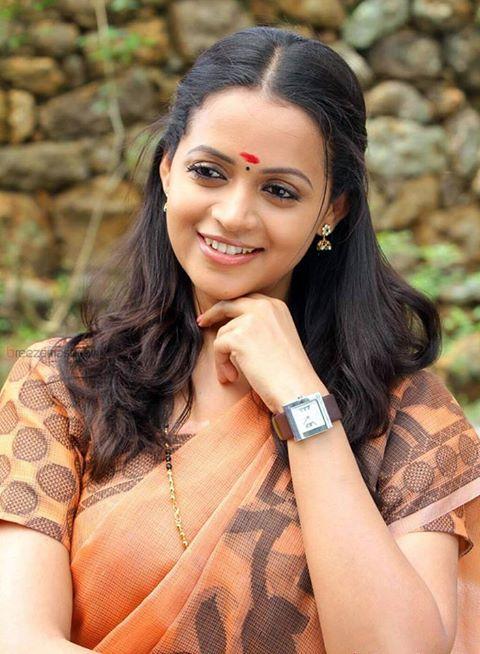 Bhavana Menon in Saree | Mollywood | Pinterest